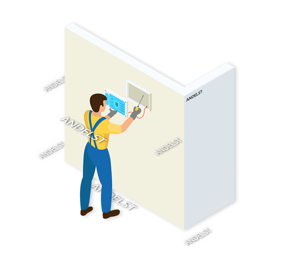 Alarmsysteem Andelst