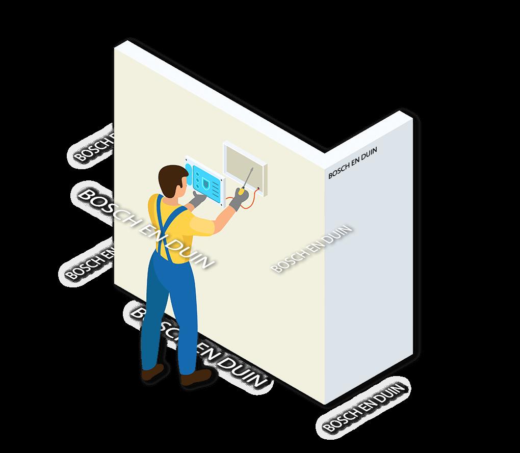 Alarmsysteem Bosch en Duin