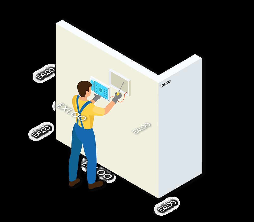 Alarmsysteem Exloo