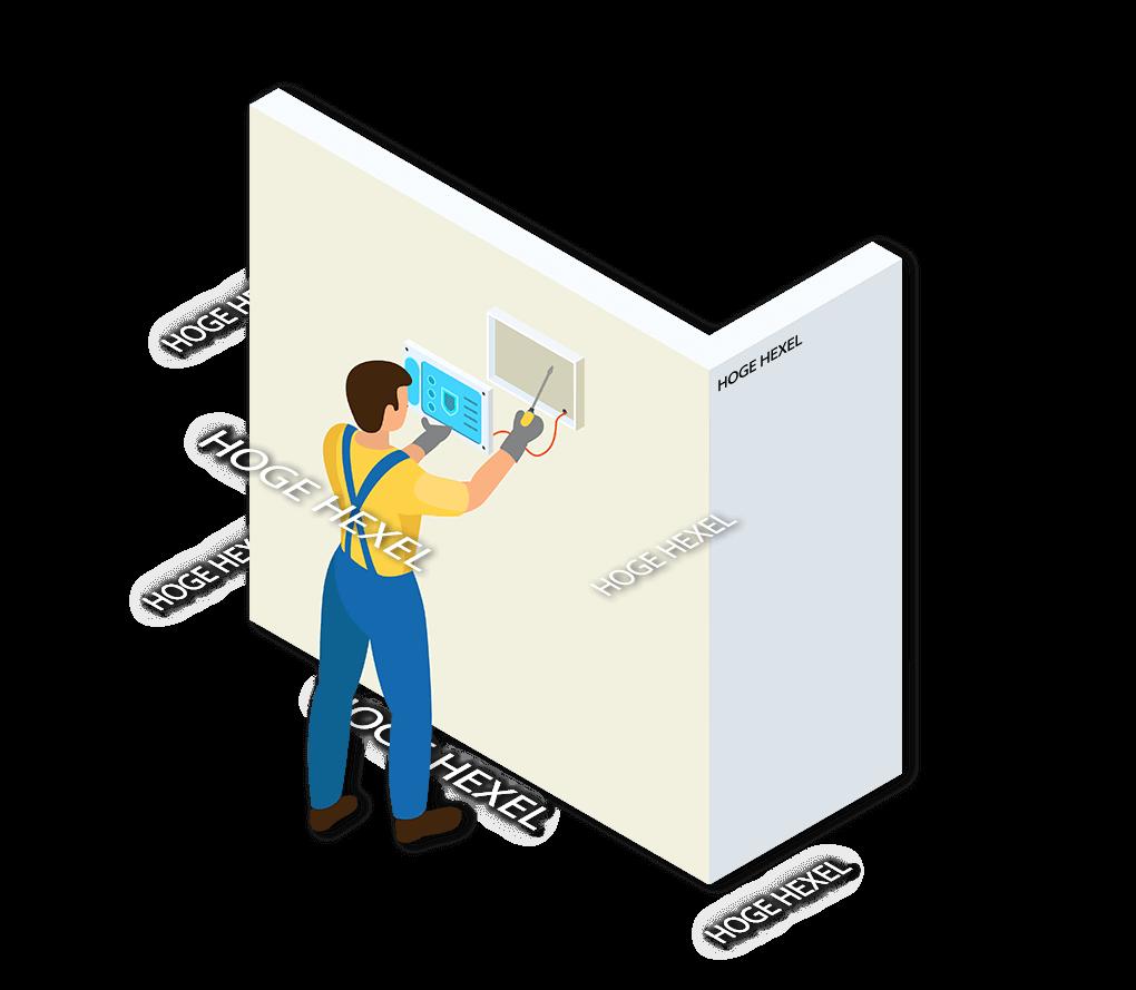 Alarmsysteem Hoge Hexel