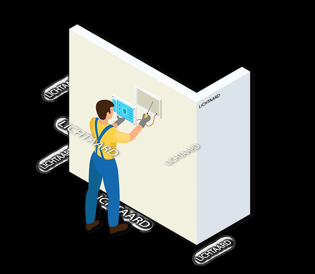 Alarmsysteem Lichtaard