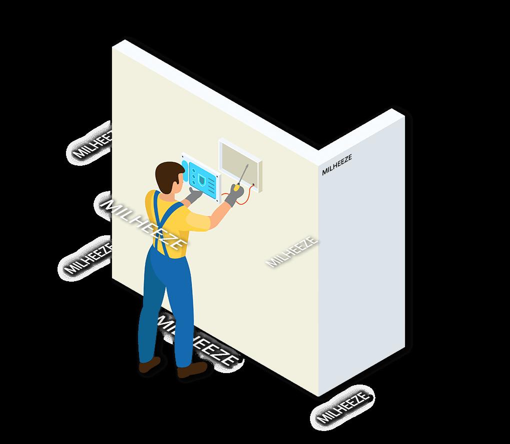 Alarmsysteem Milheeze