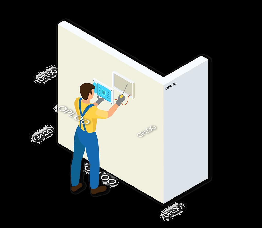 Alarmsysteem Oploo