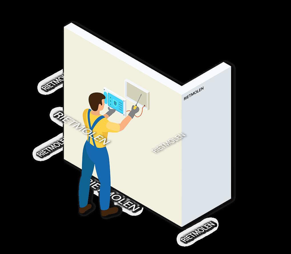 Alarmsysteem Rietmolen