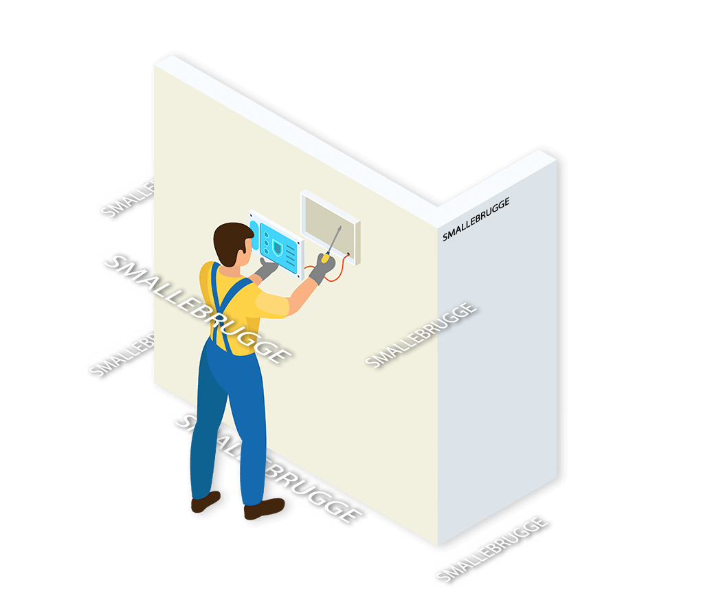 Alarmsysteem Smallebrugge