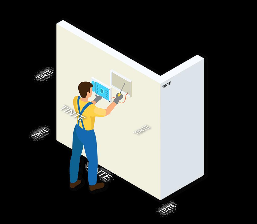 Alarmsysteem Tinte